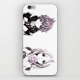 Deadman Shiro Simple Design iPhone Skin