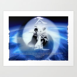 Aikido Poster /more at www.aikibudo.shop / Art Print