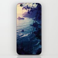 big sur iPhone & iPod Skins featuring Big Sur by Richard PJ Lambert