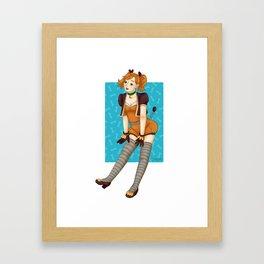 Zig Zag idol Framed Art Print