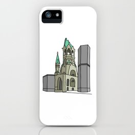 Kaiser Wilhelm Memorial Church iPhone Case