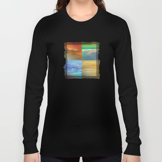 The Four Elements: Fire, Water, Air, Earth Long Sleeve T-shirt