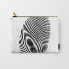 Finger print design Carry-All Pouch