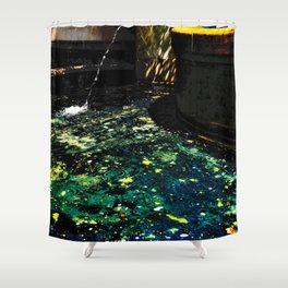 Andromeda Pool Shower Curtain