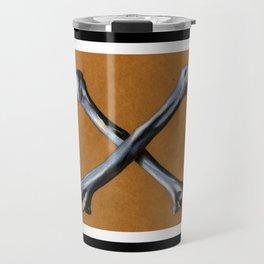 Bones , Traditional Tattoo Travel Mug