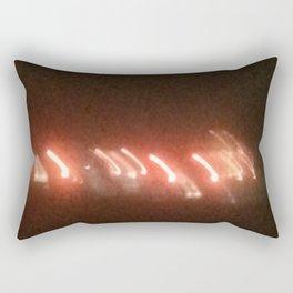 Abstracte Light Art in the Dark 22 Rectangular Pillow