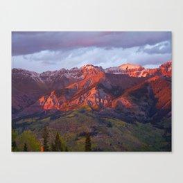 Tippy Top of Telluride Ski Resort, CO Canvas Print