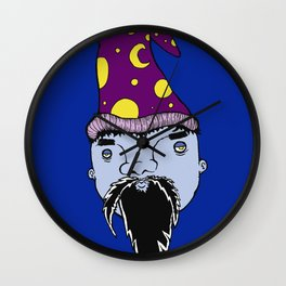 WhizardBlu Wall Clock