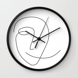 Different Smile Wall Clock