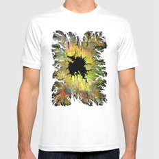 The Hole White Mens Fitted Tee MEDIUM