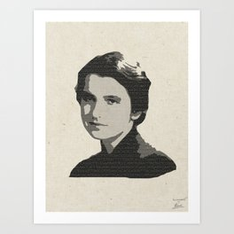 Rosalind Franklin Art Print