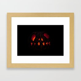 pumpkin bad Framed Art Print