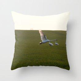 L'envol. Throw Pillow