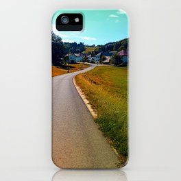 Country road, take me nowhere iPhone Case