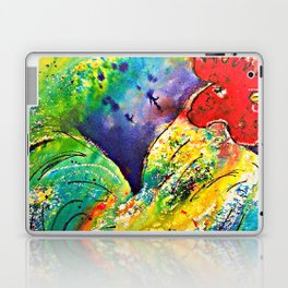 Henry the Rooster Laptop & iPad Skin