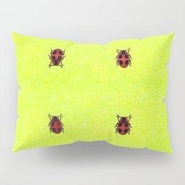 Ladybird March Pillow Sham