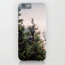 Neahkahnie Mountain Beach Oregon Coast Photo Forest iPhone Case