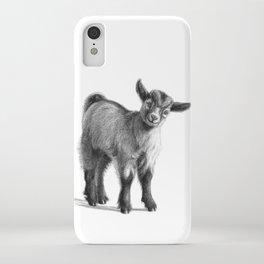 Goat baby G097 iPhone Case