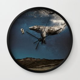 we exist in the same exhale. Wall Clock