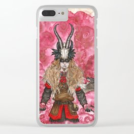 The trickster God Clear iPhone Case