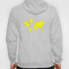 World with no Borders - true yellow Hoody