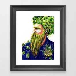 Hopster Framed Art Print