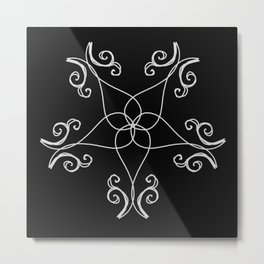 Five Pointed Star Series #7 Metal Print