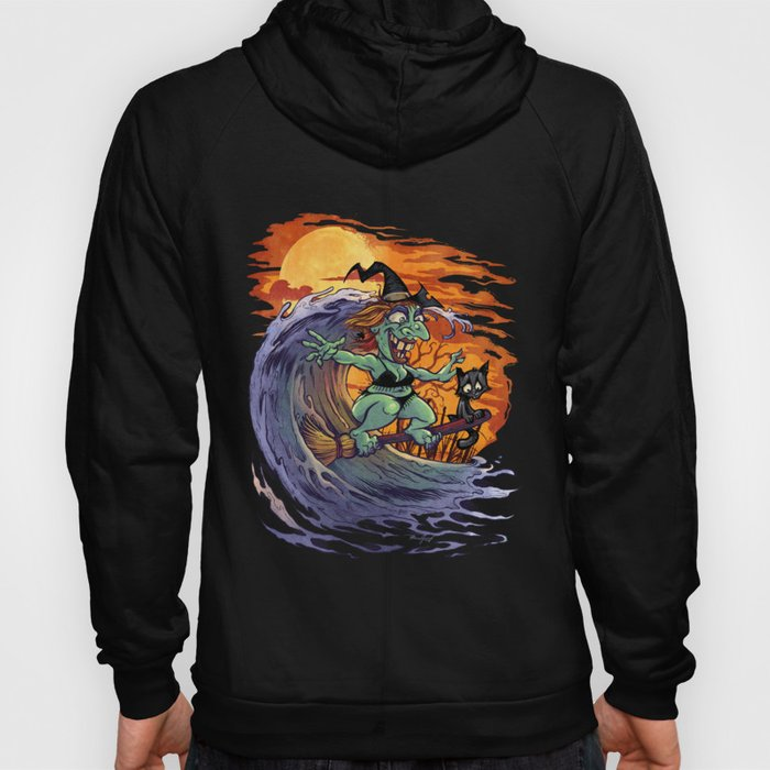 Witch At The Beach Hoody