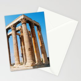 Temple of Olympian Zeus - Athens Greece Stationery Cards