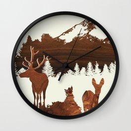 woodland Wall Clock