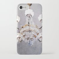 chandelier iPhone & iPod Cases featuring Chandelier by Charming Ink