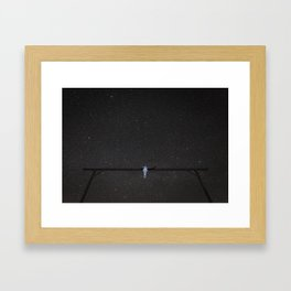 Skull Gate Framed Art Print
