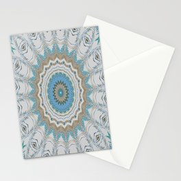 Dreamcatcher Teal Stationery Cards
