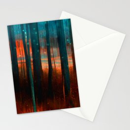 Darkness seeps in Stationery Cards