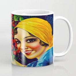 Vintage Brazil Coffee Ad Coffee Mug