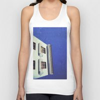 spanish Tank Tops featuring Spanish House by Martin Llado