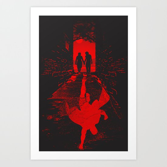 heroes within Art Print