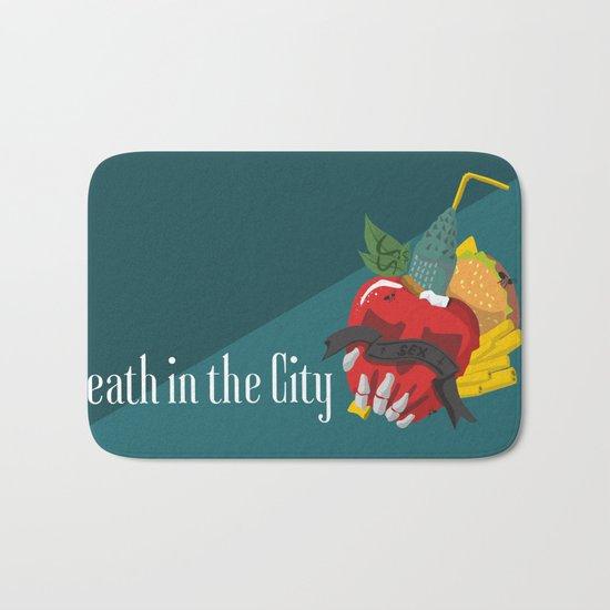 Death in the city Bath Mat