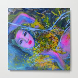 RUSALKA #society6 #decor #buyart Metal Print
