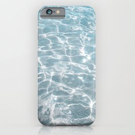 Crystal Clear Blue Water Photo Art Print | Crete Island Summer Holiday | Greece Travel Photography iPhone Case