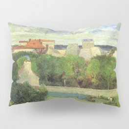 The Market Gardens of Vaugirard - Paul Gauguin (1879) Pillow Sham