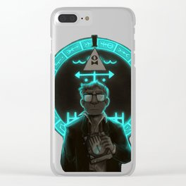 Gravity Falls- Stan Pines Is Not What He Seems Clear iPhone Case