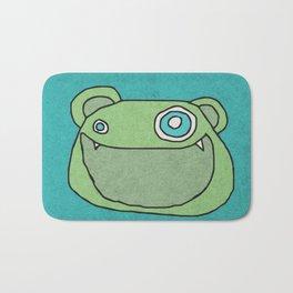 Slightly Amused Monsters, XIII Green Bath Mat