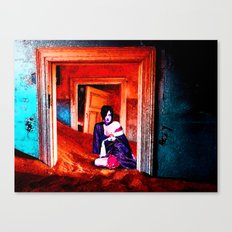 The Woman in the Dunes Canvas Print