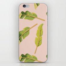 Tropical '17 - Solar [Banana Leaves] iPhone & iPod Skin