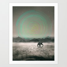 Spinning Out of Nothingness Art Print