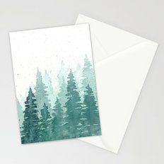Evergreens Stationery Cards