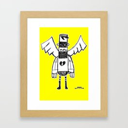 Masked Guy Framed Art Print
