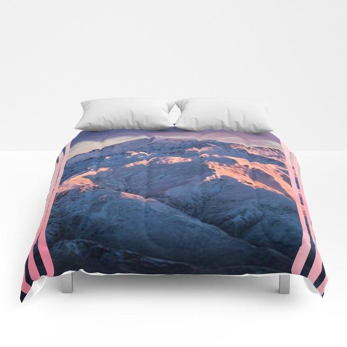 mountain stripes Comforters