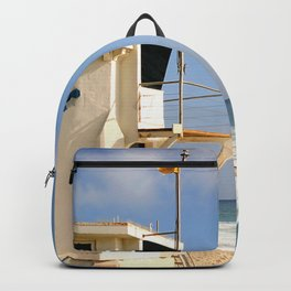 Laguna Beach Lifeguard Tower Backpack